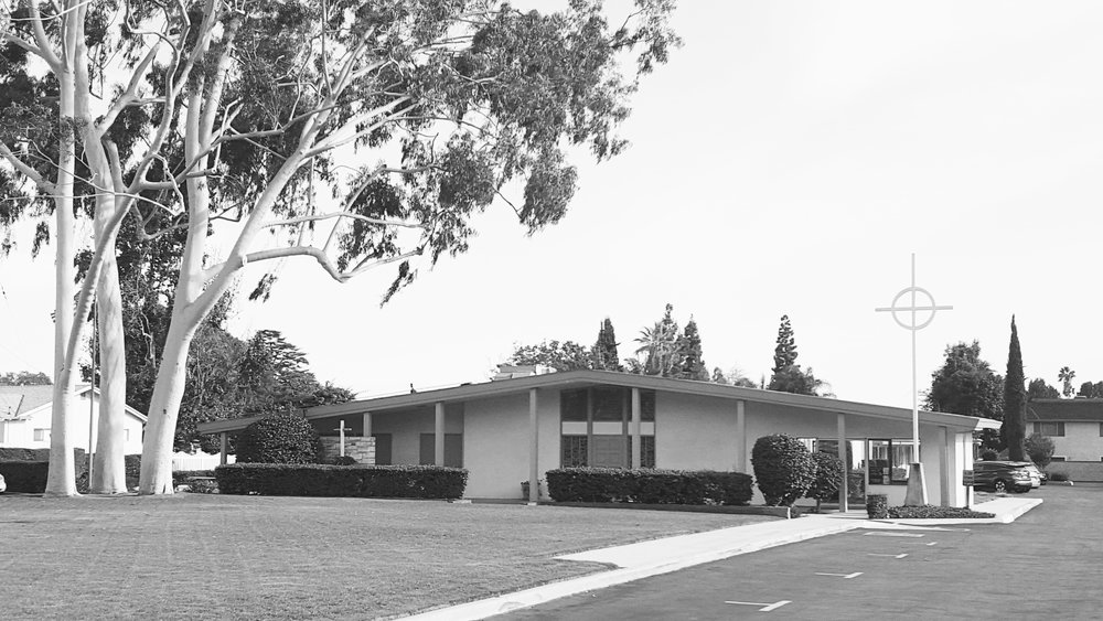 Our first church building on Live Oak Ave. in Temple City, California.