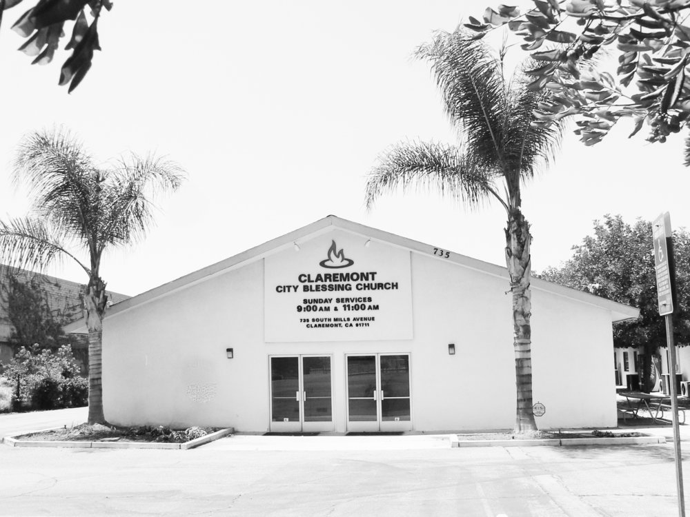 City Blessing Church facility in Claremont. First service held in 1993.
