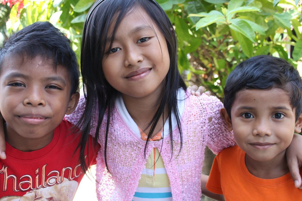 A few of our children at the Surabaya Orphanage