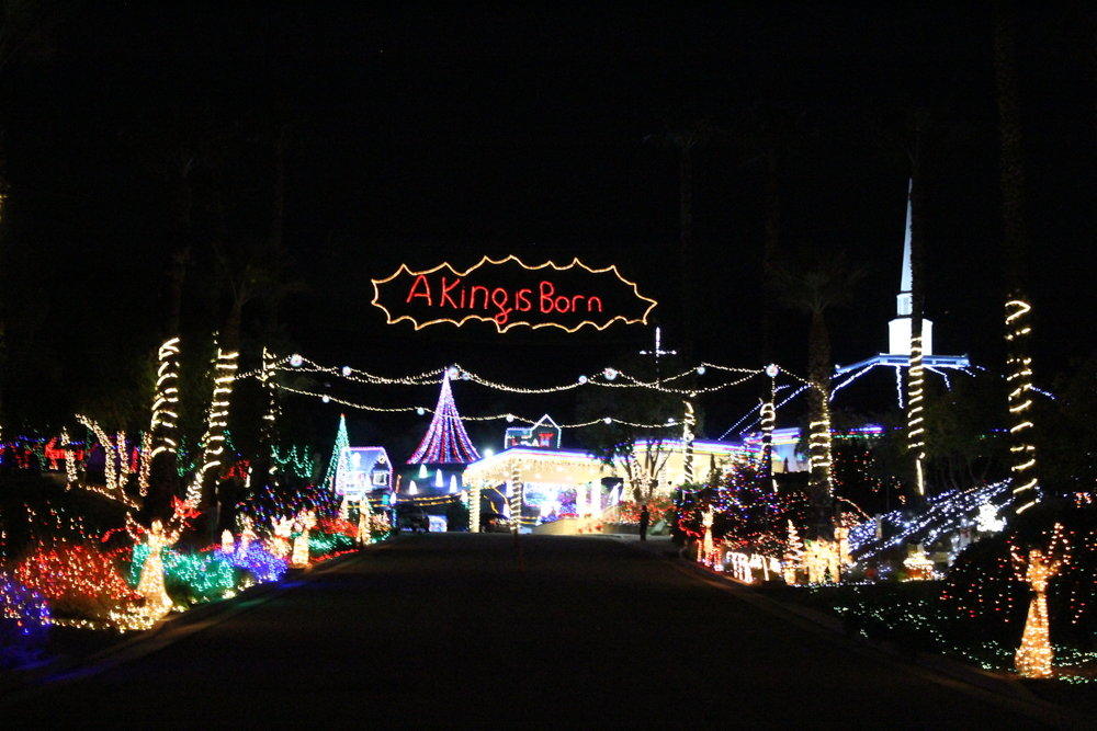 lights on miracle hill - Chino Christmas Lights