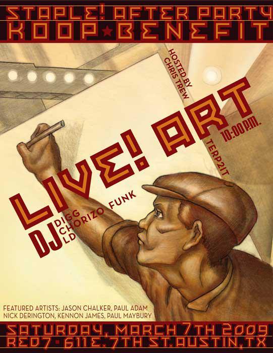 staple-liveart-flyer2009