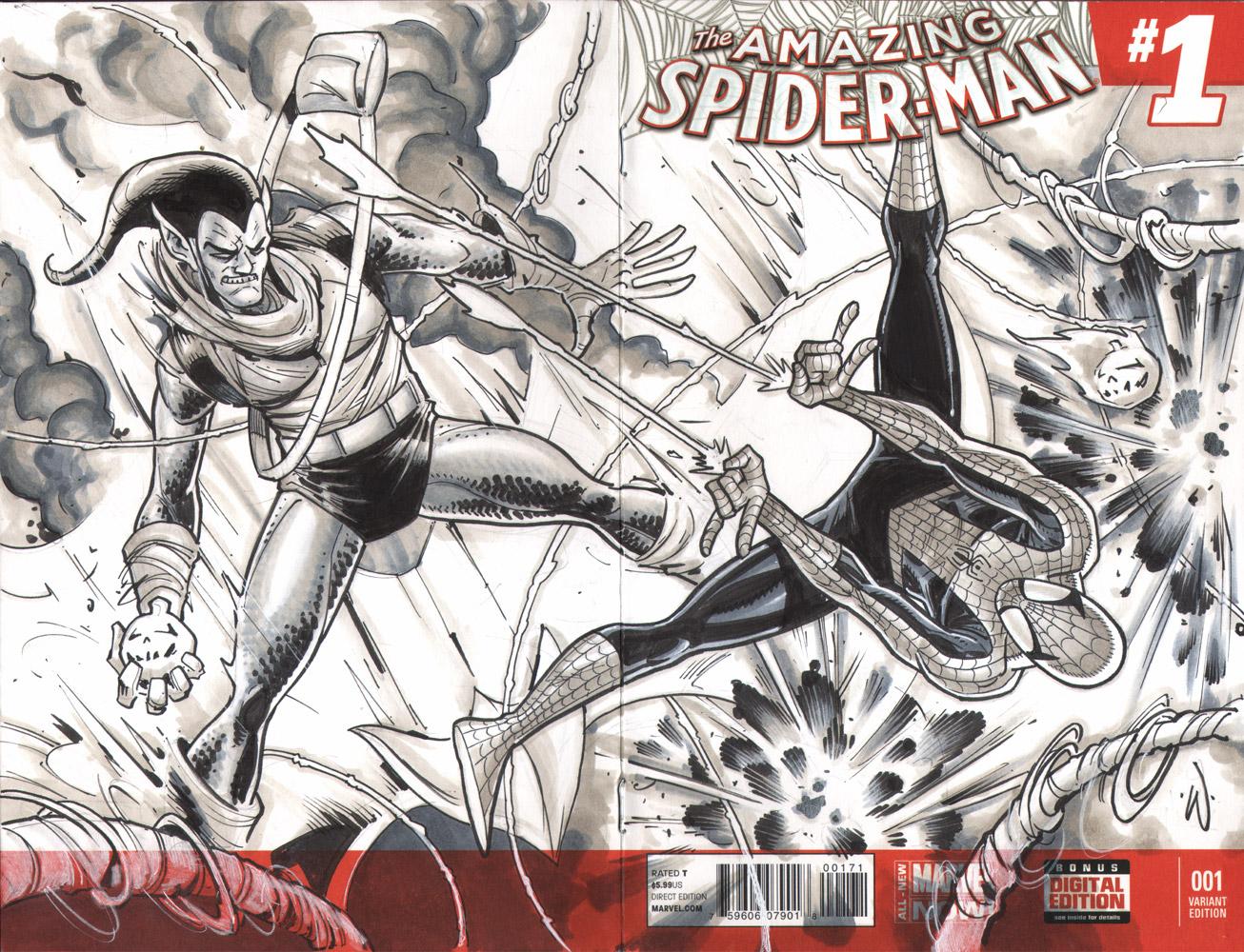 Spider-Man-SketchCover