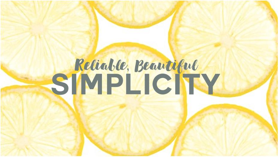 Simplicity // Anne Charlton