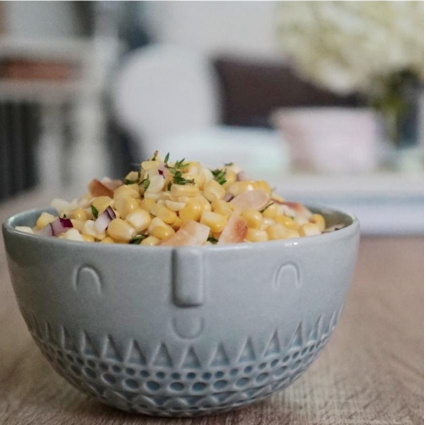 Coconut Corn Salad