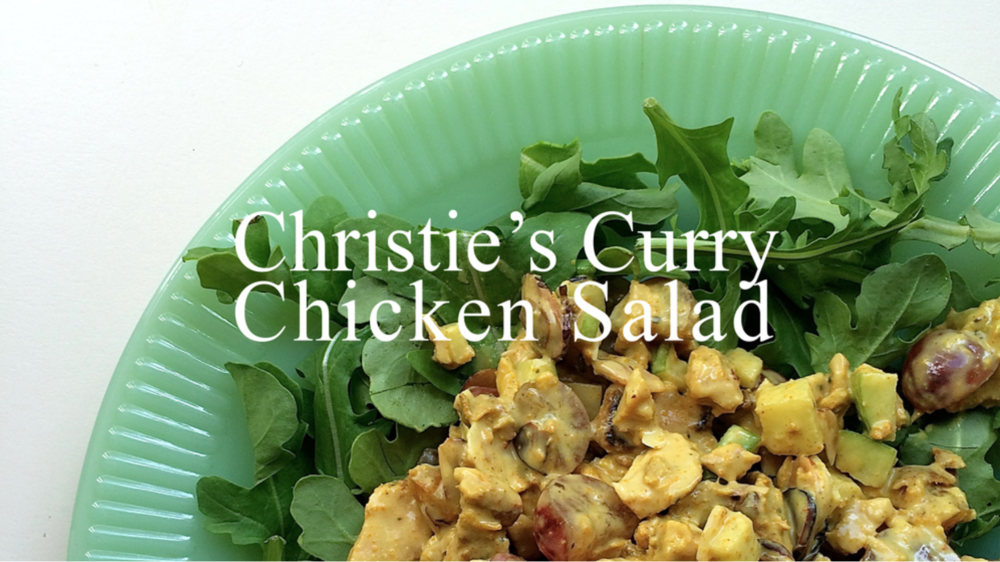 Jen Wise / Christie's Curry Chicken Salad