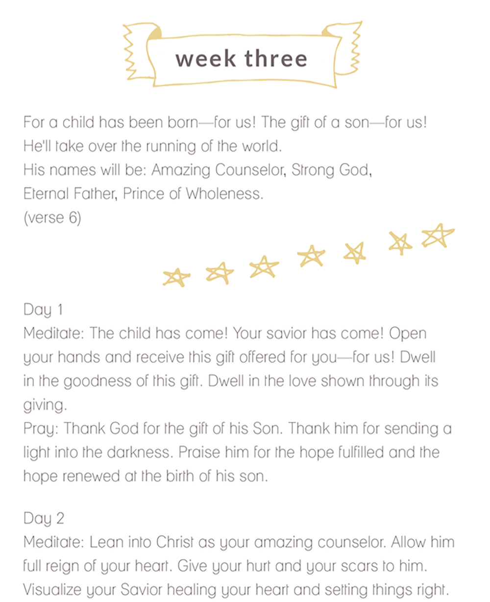 Jen Wise // Free Advent Devotional