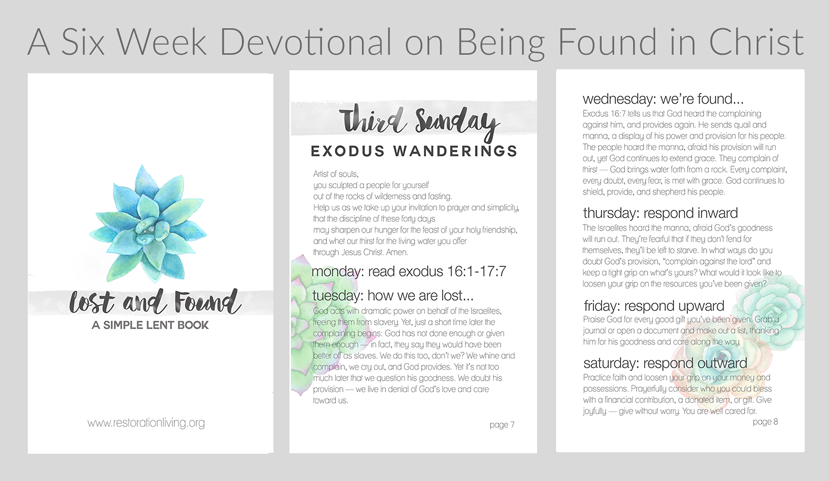 Free Devotional for Lent and Easter // Jen Wise