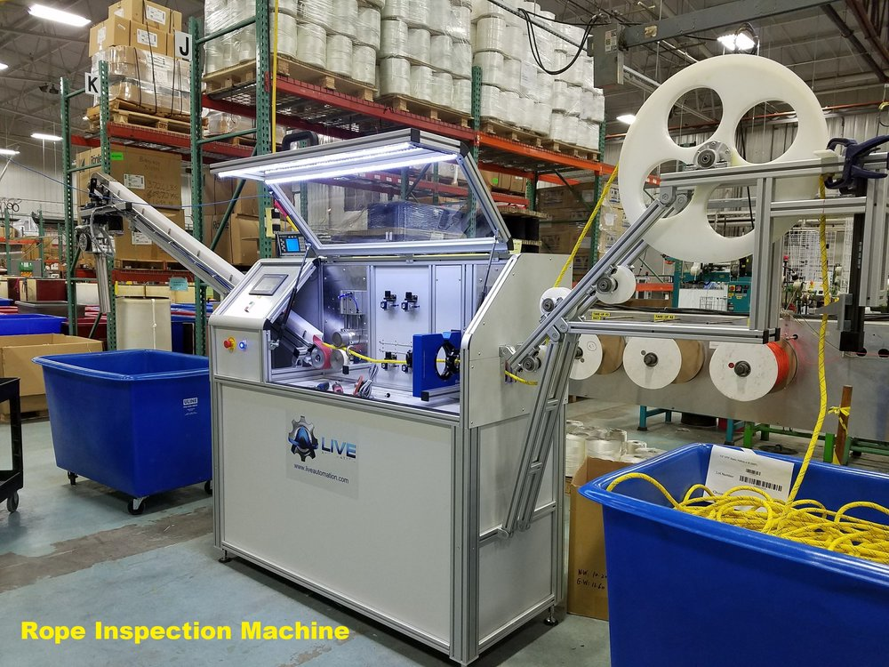 Rope Inspection Machine