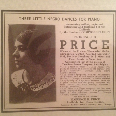 "Article: ""Florence B. Price"""