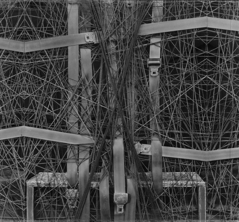 Belts triptych  1994  29X32.5