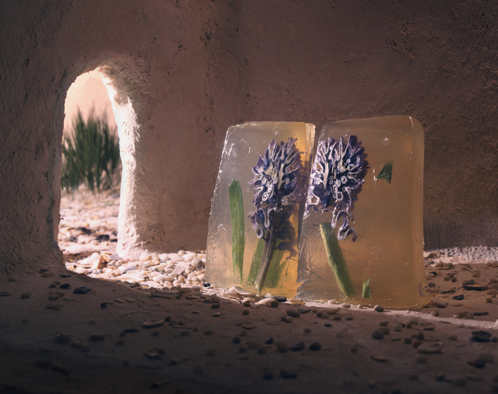 Blue Flower   2004   16X20