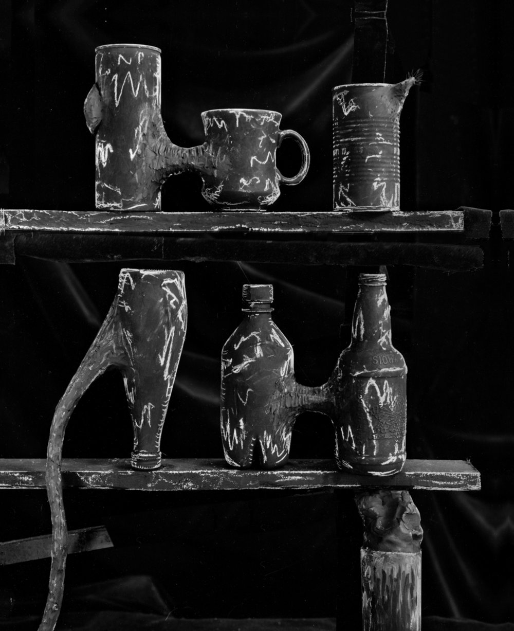 Clay Shelves   1993   20X16