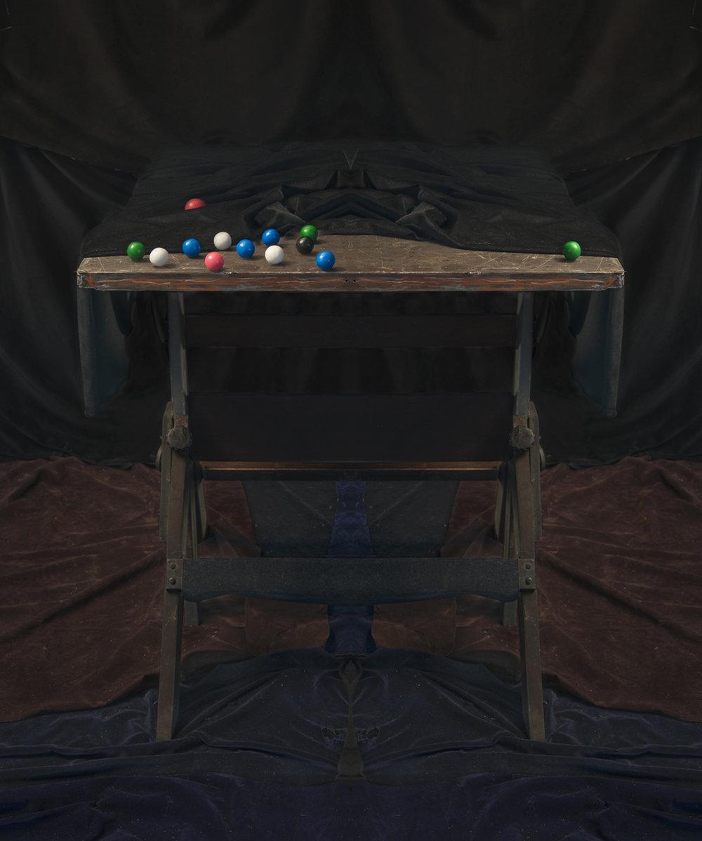 Gum Balls - Mirrored diptych  2018