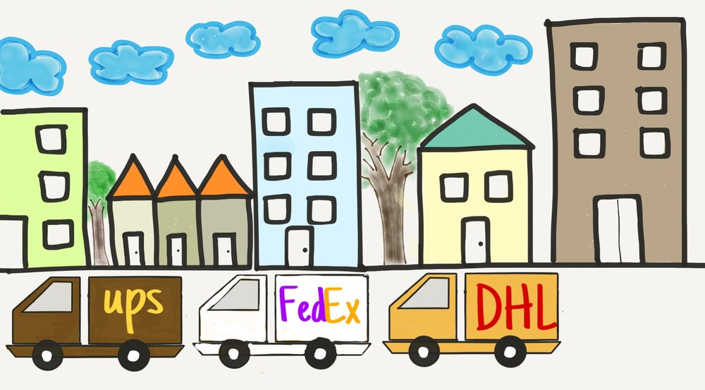 ecommerce delivery congestion
