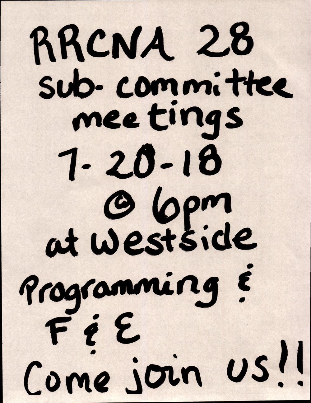 2018-07-20 RRCAN 28 subcommittee meetings.jpg