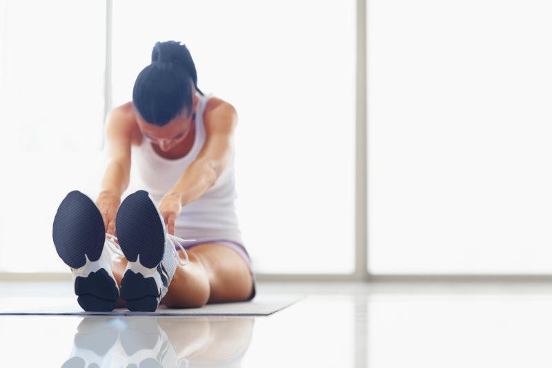 Stretching pre and post exercise to minimise soreness