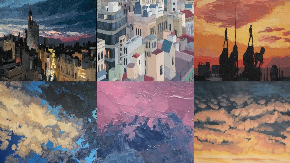 Closeups. Top Row (L–R): Madrid No. 1 | Barcelona No. 1 | Madrid No. 2 Bottom Row (L–R): Santa Fe Sky No. 3 | Angeles Sky | Santa Fe Sky No. 1