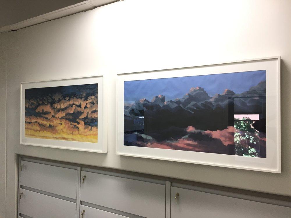 Santa Fe Sky No. 1 (L) & Santa Fe Sky No. 2 (R)