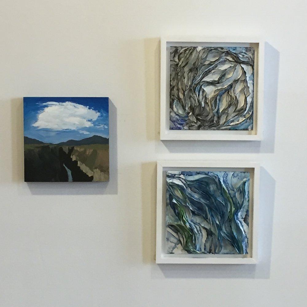 Taos No. 2 / Acrylic / 12 x 12
