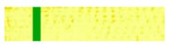 7 ième keup  :    Ceinture jaune barre verte