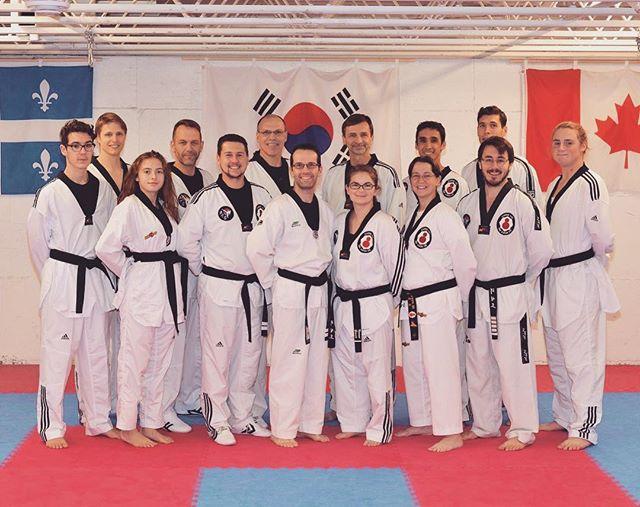 Ceintures noires de l'Académie, 2017 #taekwondo #blackbelt #atq