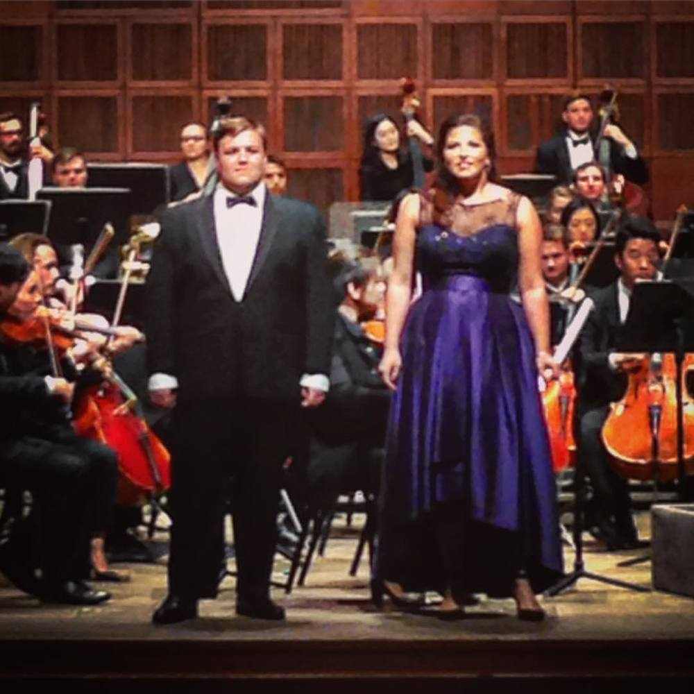 CCM Philharmonia Fall Concert 2015, Madama Butterfly Love Duet