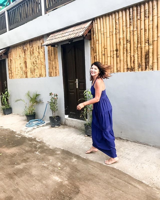 Hair flip for the win. . . . . #linkinbio #lombok #indonesia #vacation #vacationmode #podcast #podcaster #listentothis #listentome #comedy #gilitrawangan #giliislands