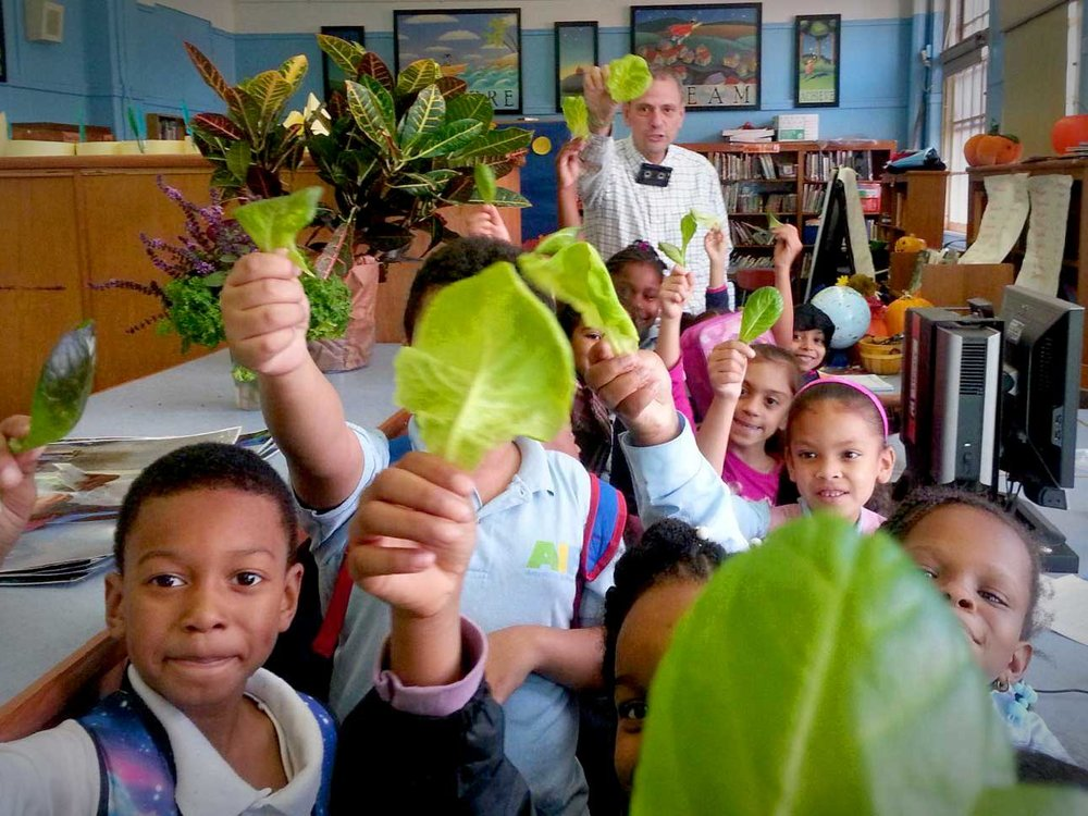 Steve Ritz growing children in the Bronx.