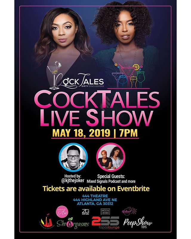 """#EVENT: MEDIA + VOLUNTEERS NEEDED! ————————————————— Media interested in attending @cocktalespodcast email Media@GeorgiaMediaAgency.com with """"MEDIA"""" in subject line. Volunteers interested in helping, email with """"VOLUNTEER"""" in subject line. ————————————————— Saturday, May 18th - Sunday, May 19th [ATL]"""