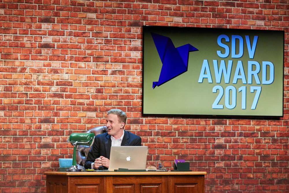 Stefan Büsser war diesjähriger Moderator der SDV-Award-Night.