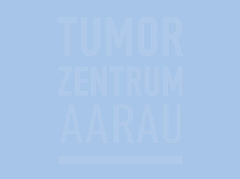 Tumor zentrum aarau - Logo, Broschüre, Flyer, Text