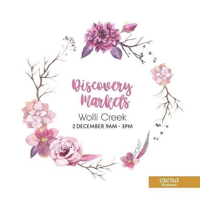 @esenathemuse will be joining us this Saturday!  Come and check out some beautiful handmade flower crowns or have a word about their event styling options for this festive season!  #seriouslydecent #DM #local #sydney #community