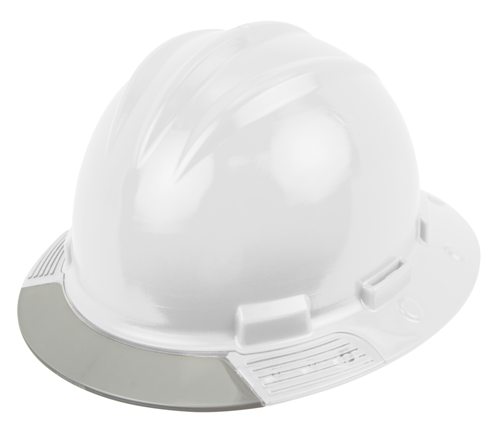 bullard avwhrg aboveview hard hat full brim hat style grey brim