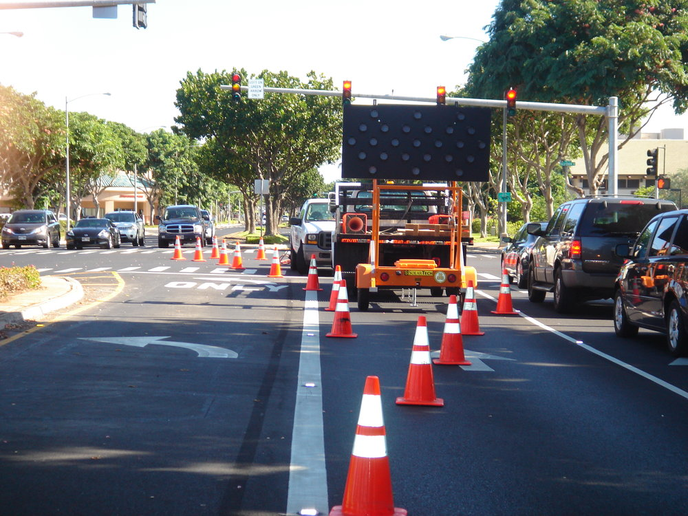 Rentals of Traffic Control Products