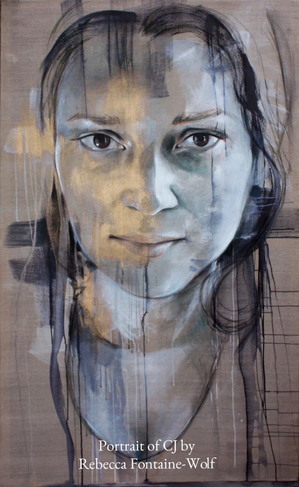 Portrait of CJ Munn by Rebecca Fontaine-Wolf