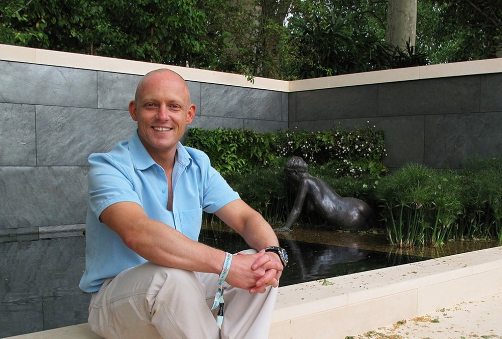 Andre Masters at the RHS Chelsea Flower Show
