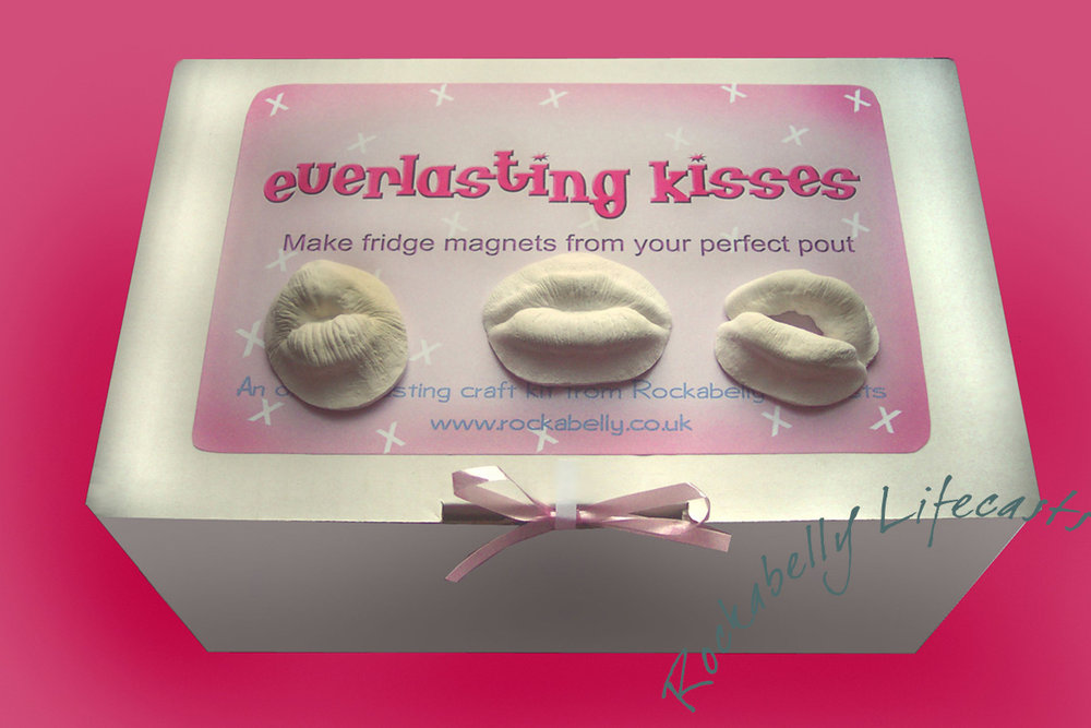 Cast kisses by post. Who will you give your everlasting love to?
