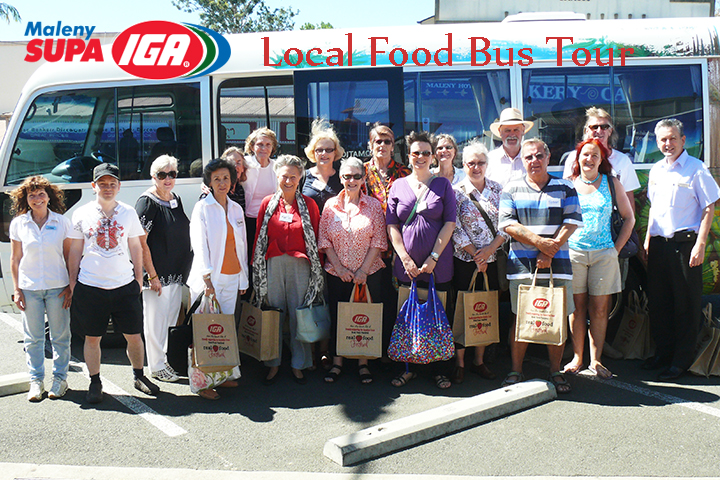 Maleny IGA Local Food Bus Trip