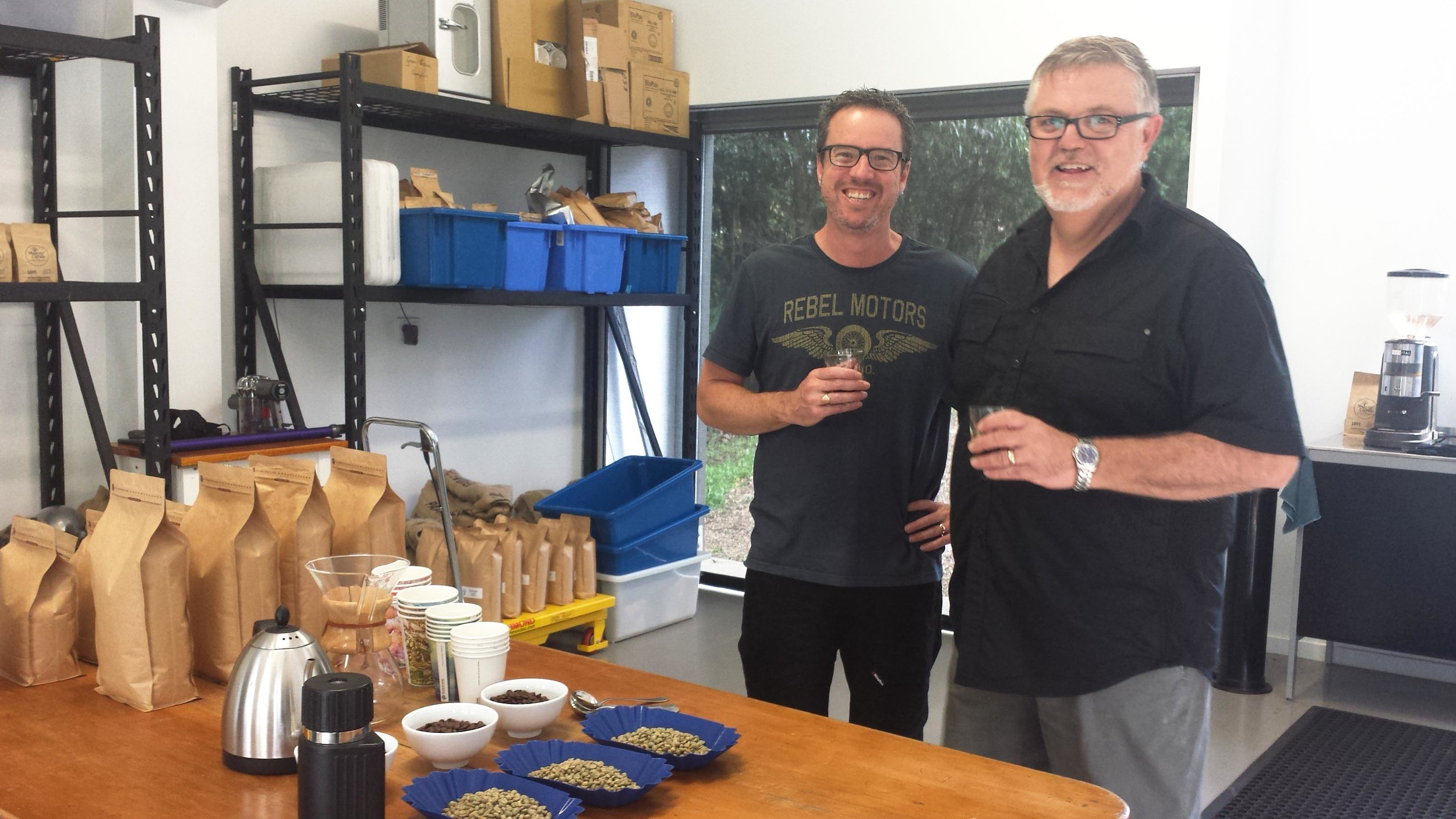 The men behind Maleny Coffee