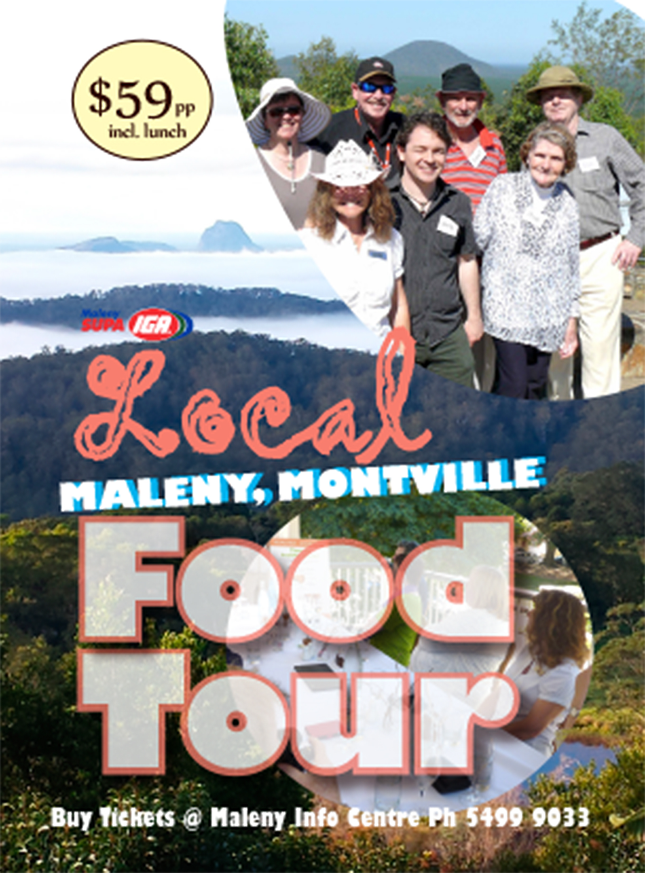 Maleny Montville Local Food Tours