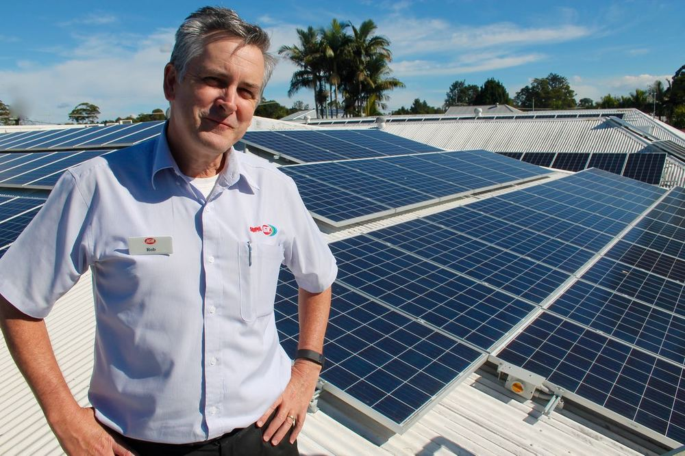 "Rob Outridge ... ""investing in renewable energy,  continues our dedication to the community values on the Range""."