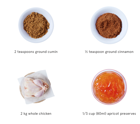 roast chicken ingredients