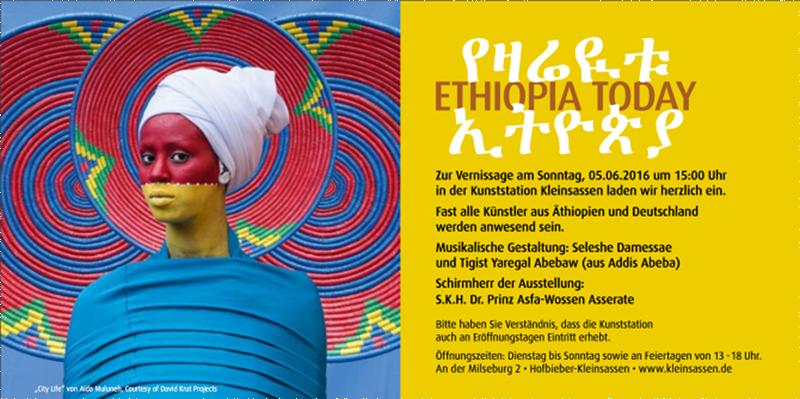 "June 2016 :""ArtView Ethiopia Today"" - Kleinsassen - Germany"