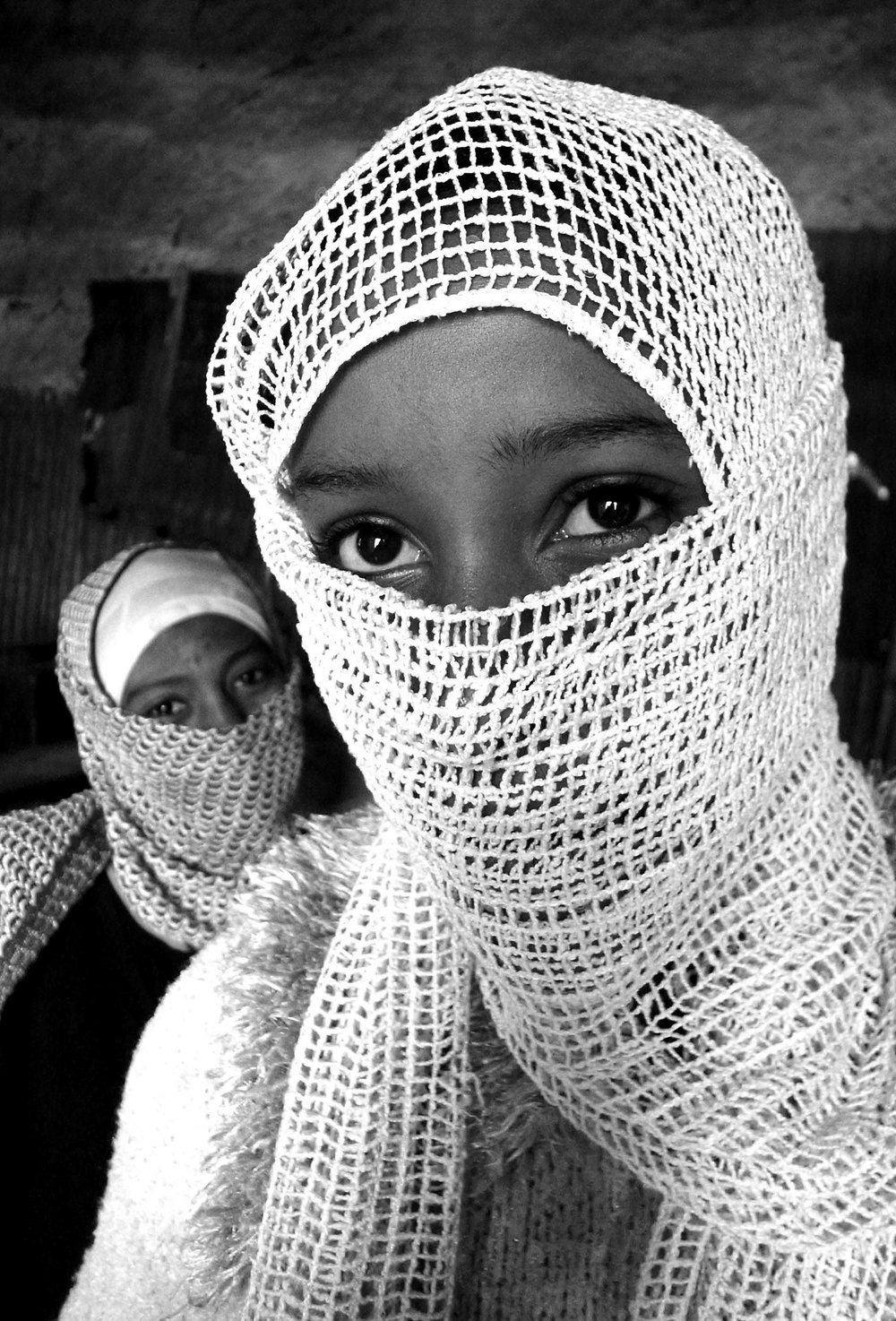 """Shy girls in Quran school"" Islam in Ethiopia series - Dese, Welo, Ethiopia"