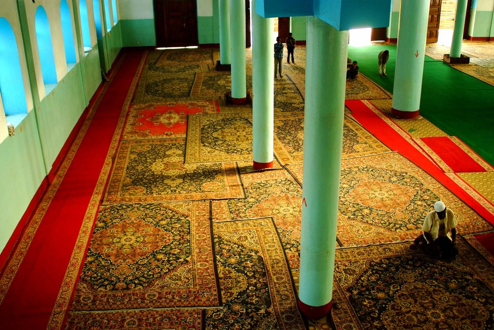 """Interior of Mosque"" Gondor, Ethiopia"