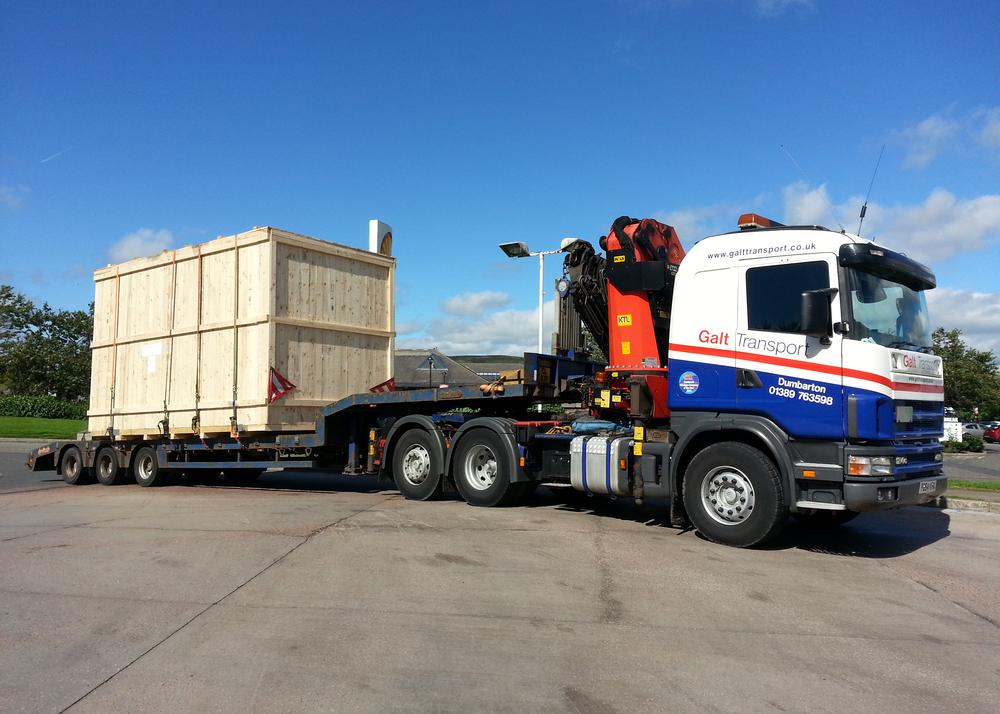 Semi-low loader trailer
