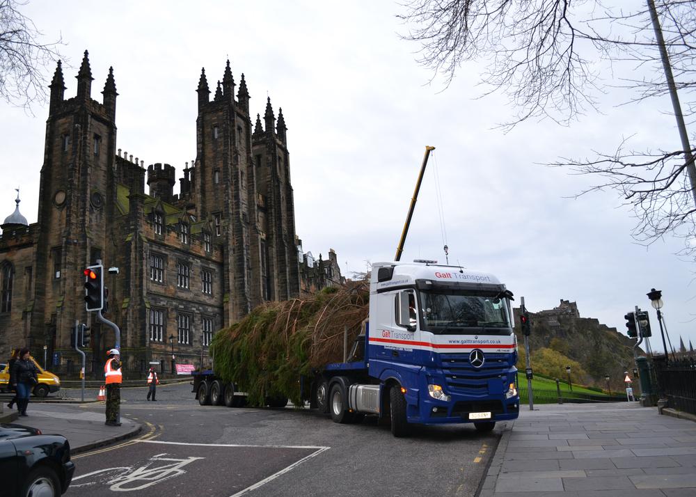Edinburgh abnormal load