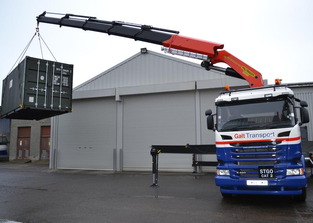Heavy lift hiab