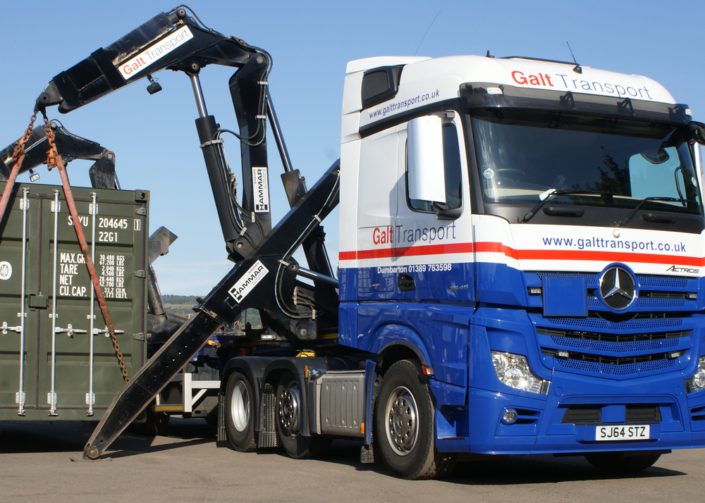 Hammar container lift