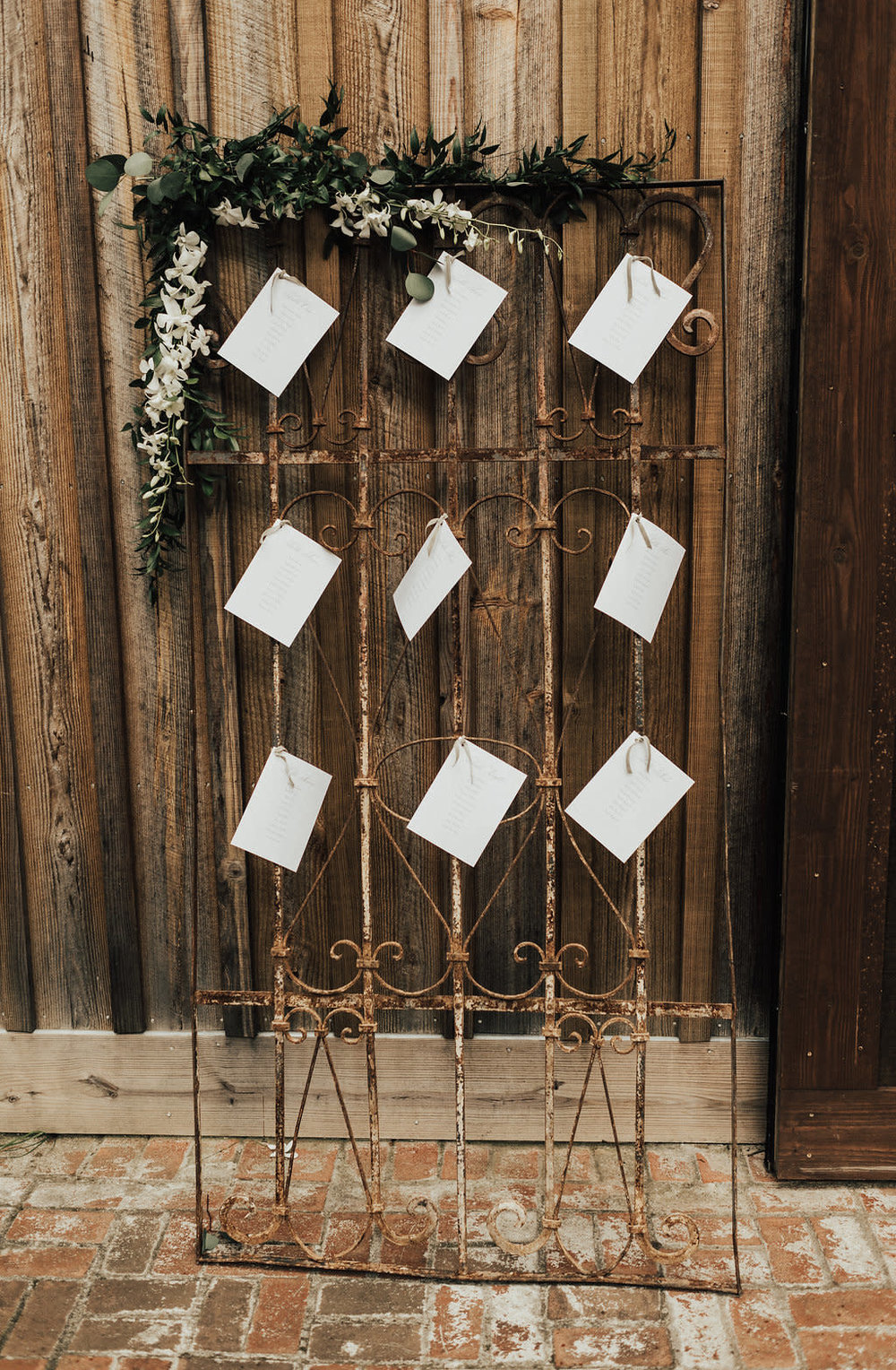 Vintage Gate Seating Assignment